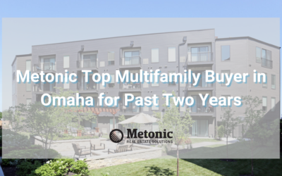 Metonic Top Multifamily Buyer in Omaha for Past Two Years