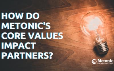 How Do Metonic's Core Values Impact Partners?